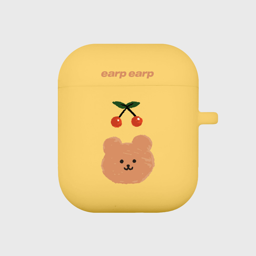 Cherry bear-yellow(Air Pods)