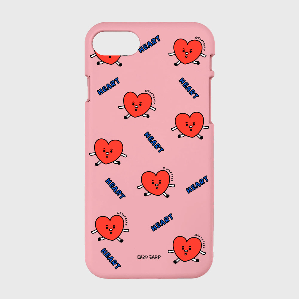 Pattern heart-pink(color jelly)