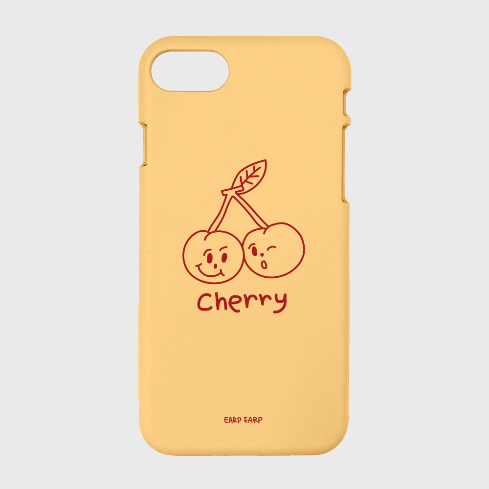 Twin cherries-yellow(color jelly)