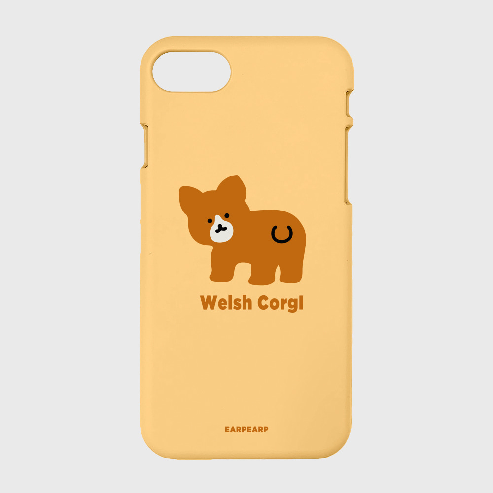 Baby welsh corgl-yellow(color jelly)