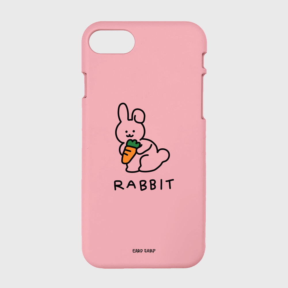 Rabbit C-pink(color jelly)