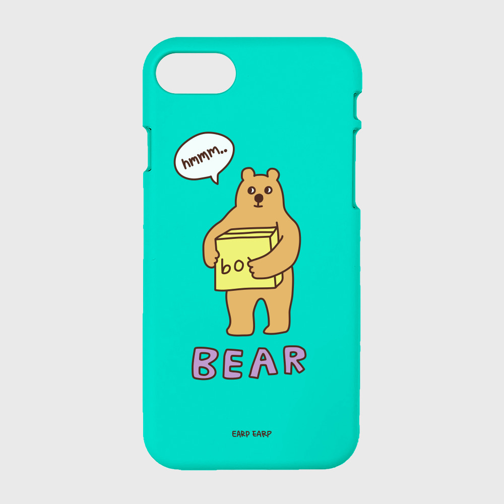Bear box-mint(color jelly)