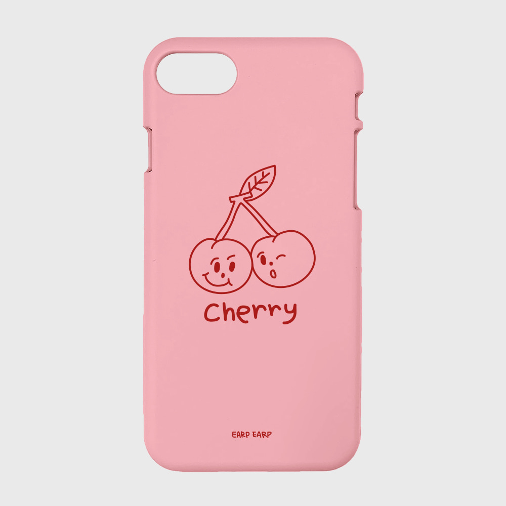 Twin cherries-pink(color jelly)