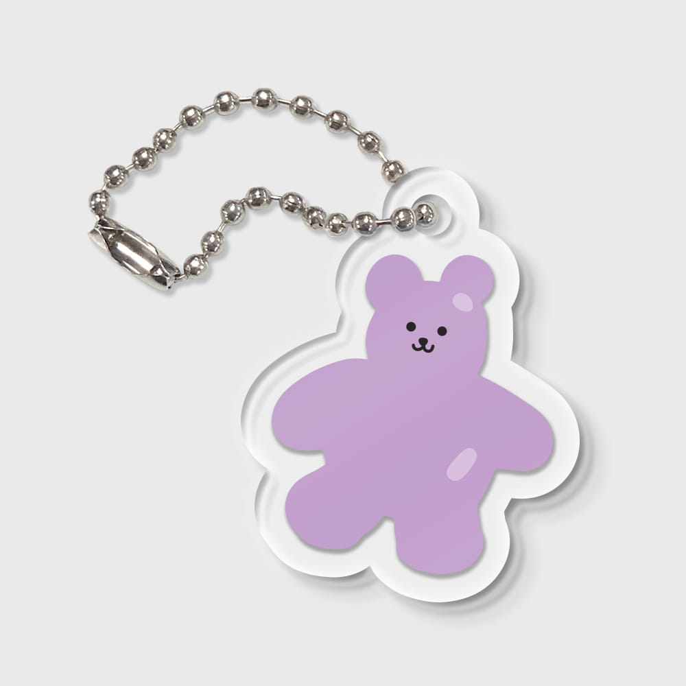 Bear friends-purple(키링)