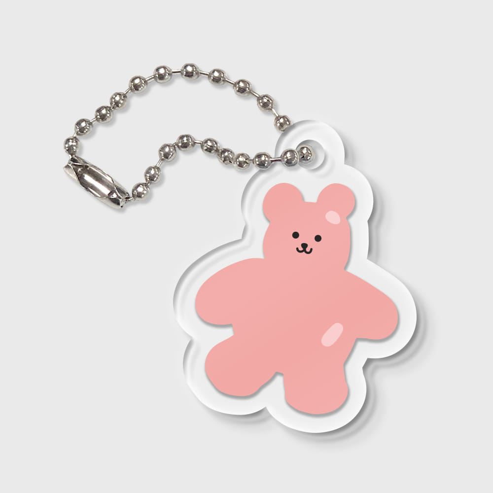 Bear friends-pink(키링)