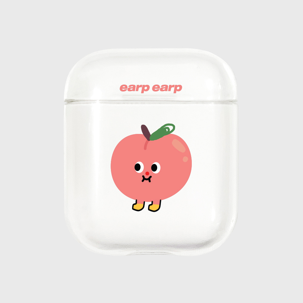 Peach-clear(Air pods)