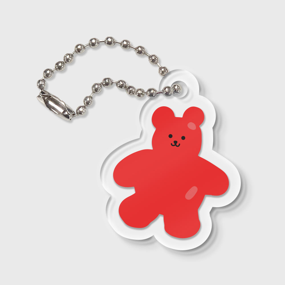 Bear friends-red(키링)
