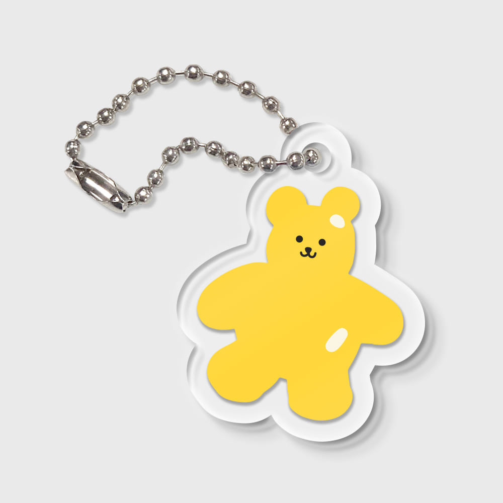 Bear friends-yellow(키링)