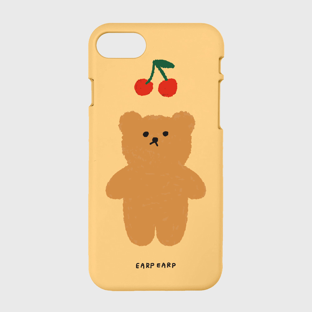 Cherry big bear-yellow(color jelly)