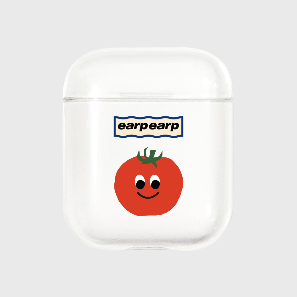 Eyes tomato-clear(Air pods)