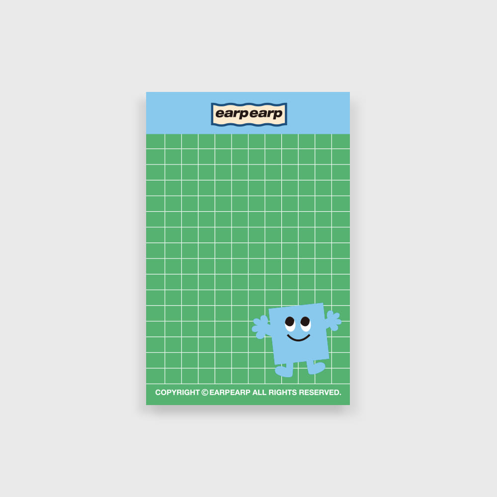 eyes square memo pad(떡메모지)