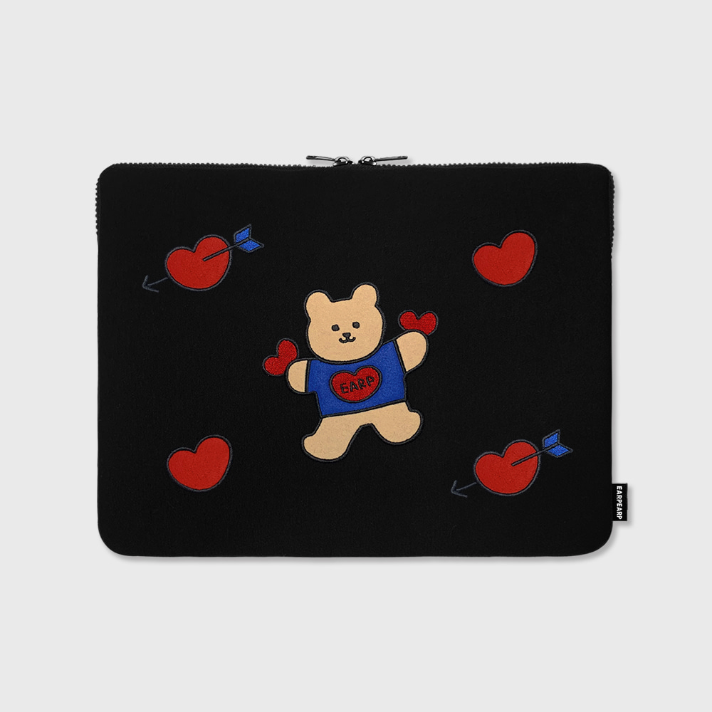 "Bear heart-13inch notebook pouch(13""노트북 파우치)"