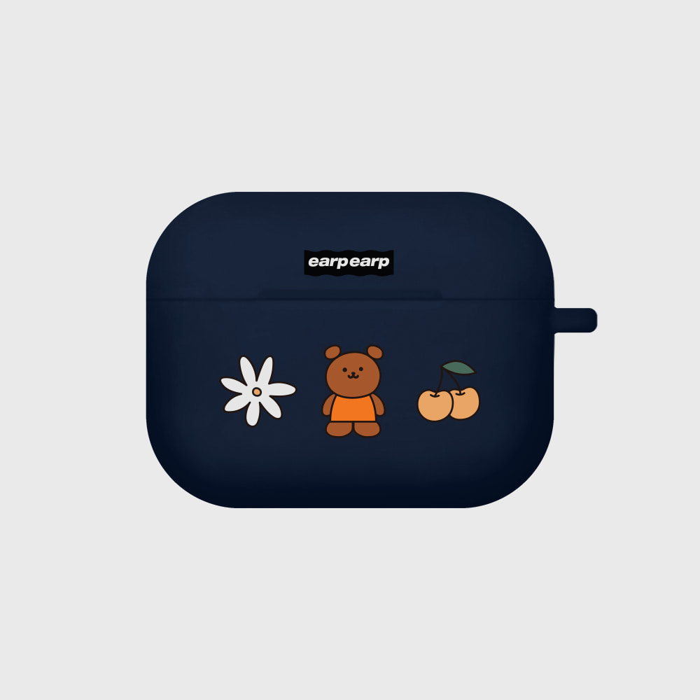 Kids bear-navy(Air pods pro)