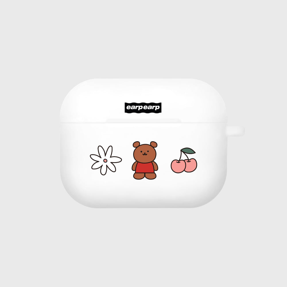 Kids bear-white(Air pods pro)
