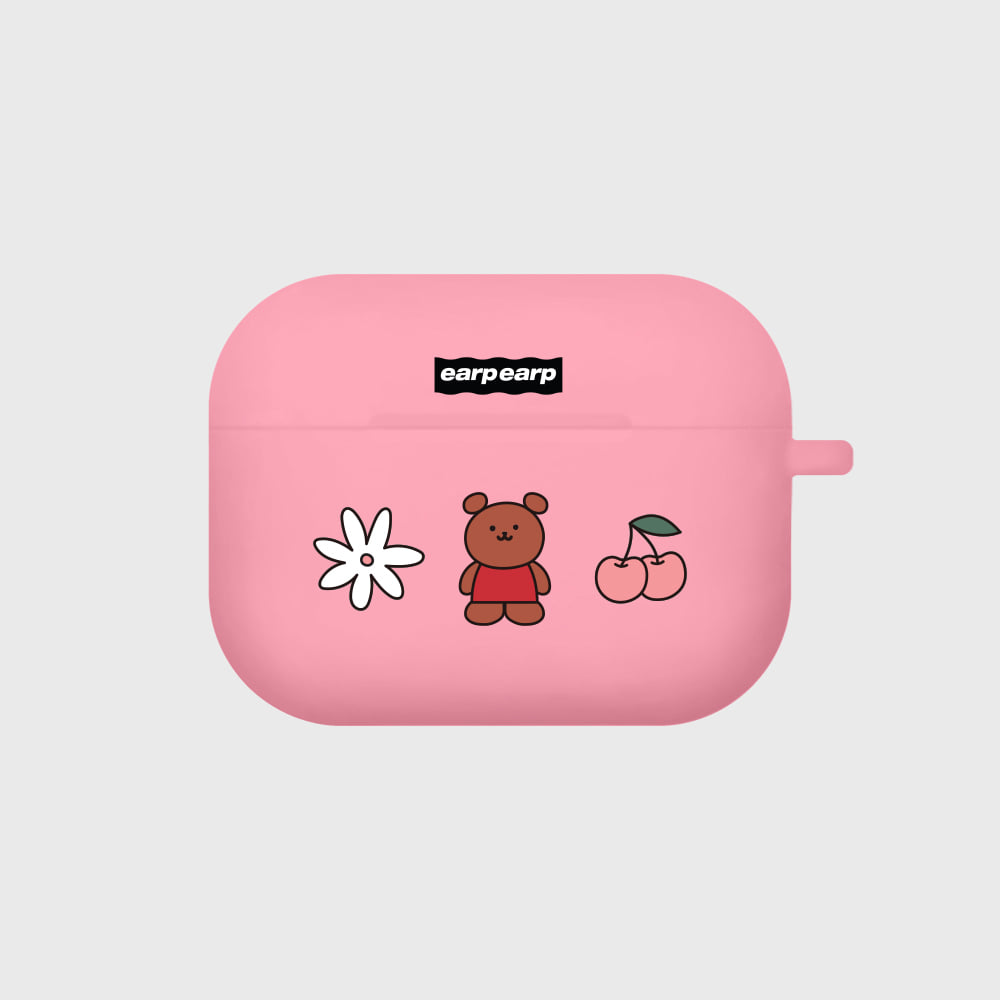 Kids bear-pink(Air pods pro)