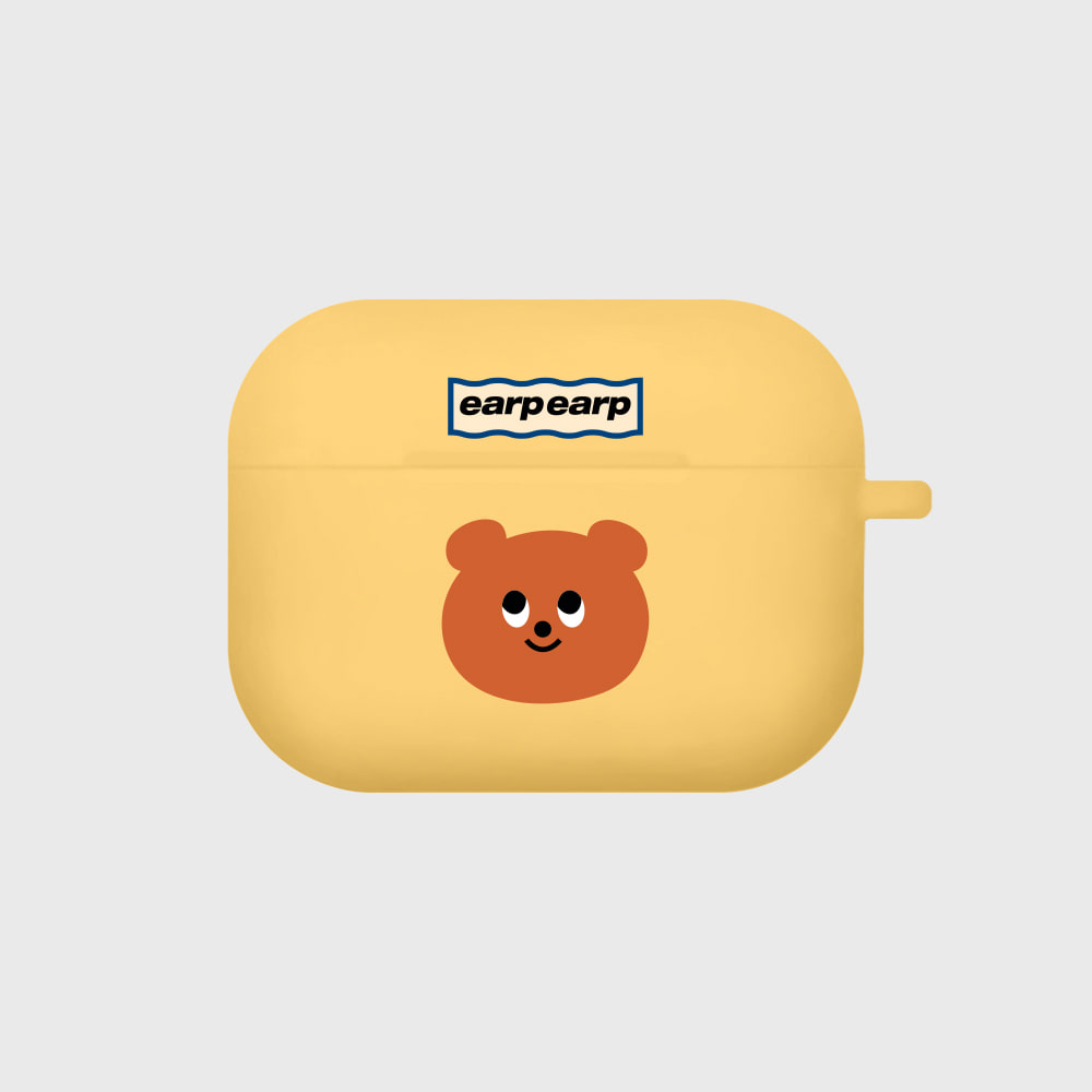 Eyes bear-yellow(Air pods pro)