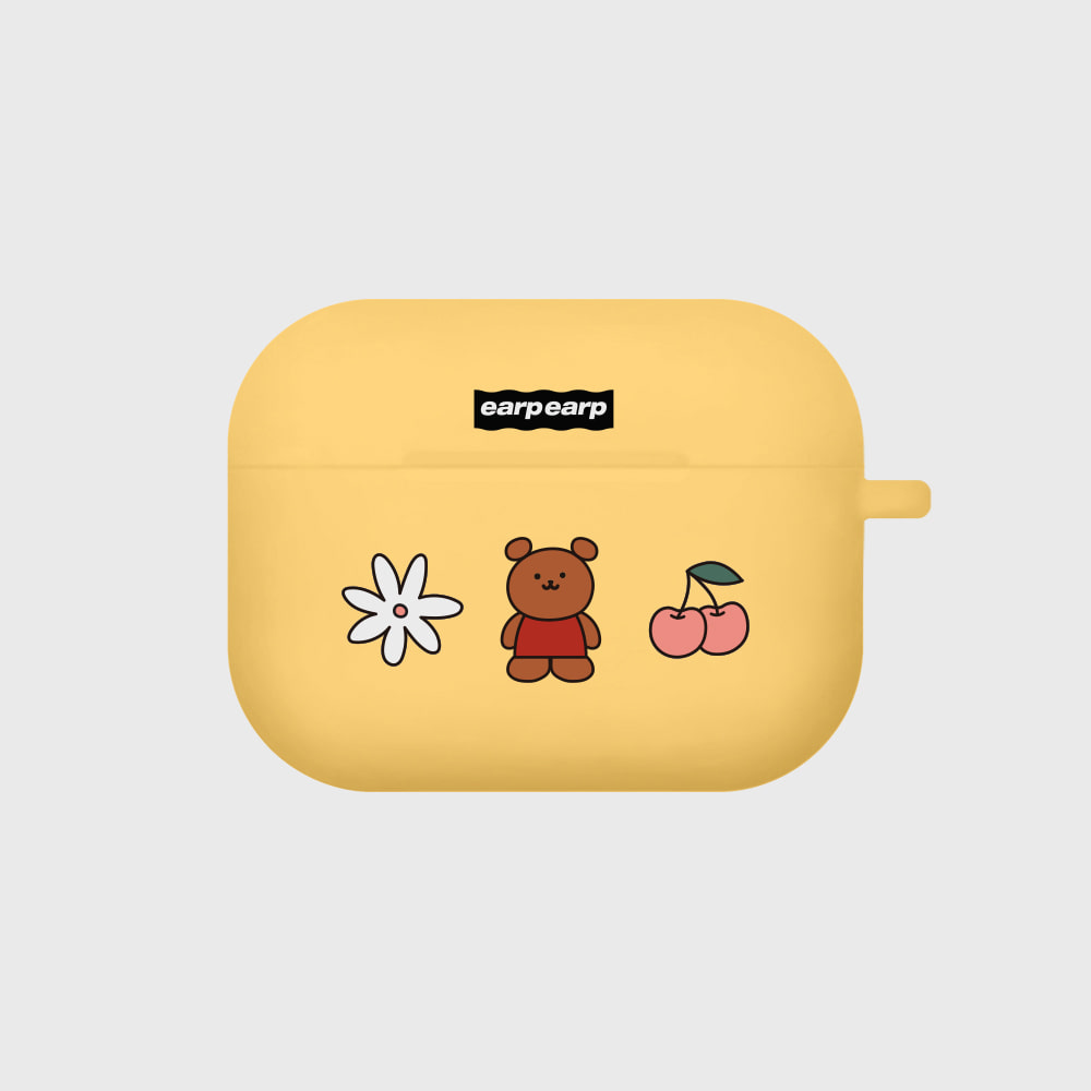 Kids bear-yellow(Air pods pro)