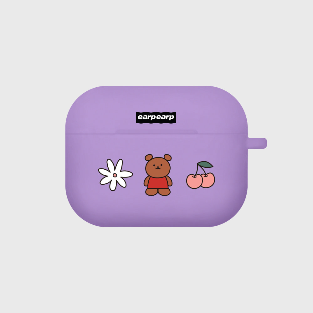 Kids bear-purple(Air pods pro)