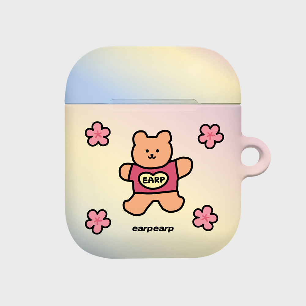 blossom bear heart(Hard air pods)