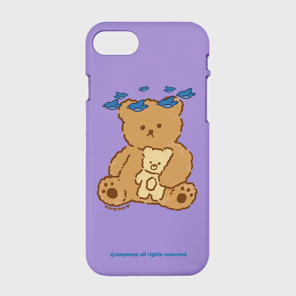 blue bird bear-purple(color jelly)