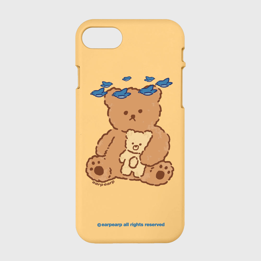 blue bird bear-yellow(color jelly)