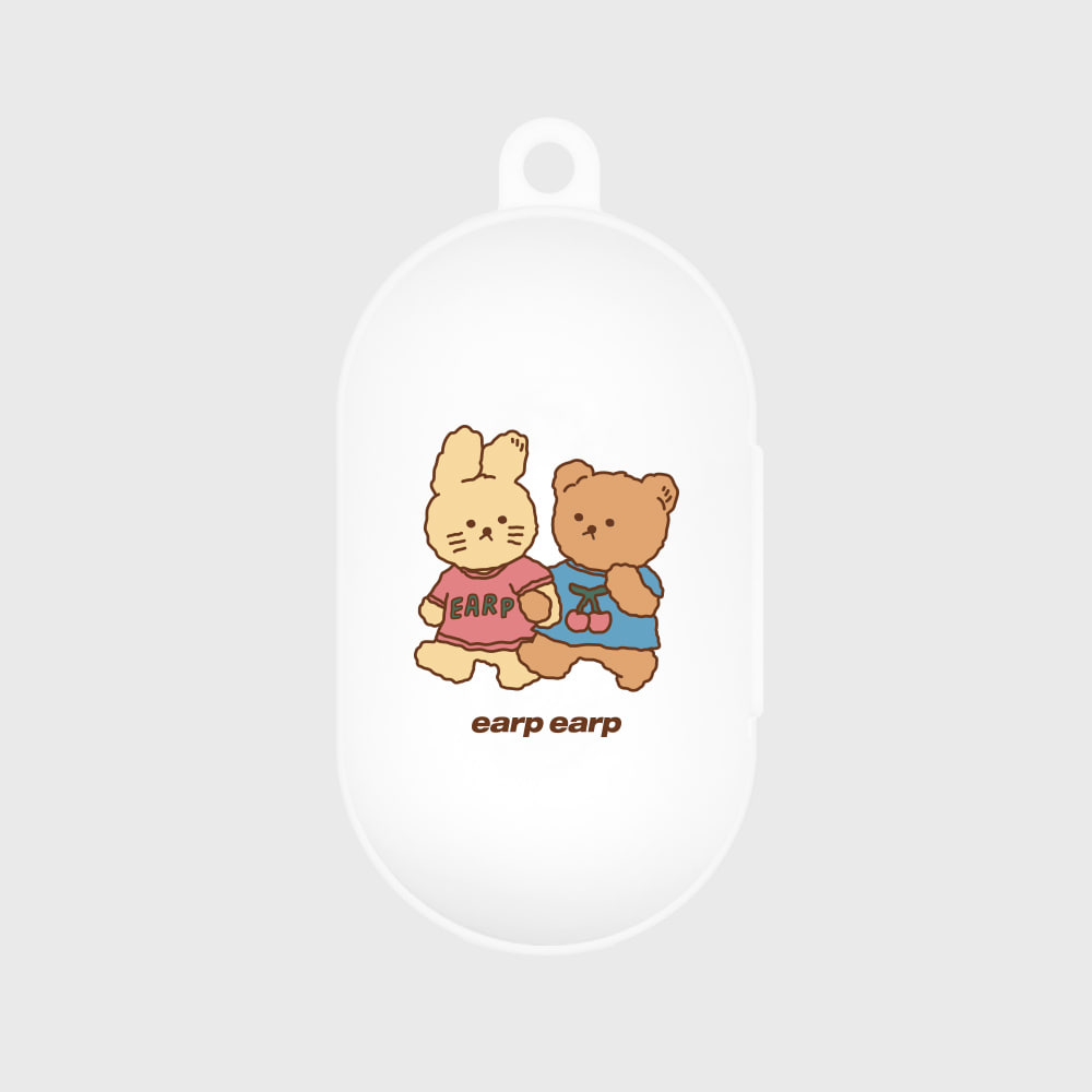 nini friends-white(buds jelly case)