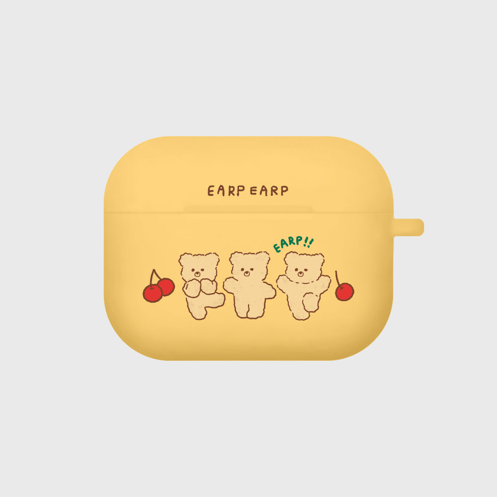 cherry nini-yellow(Air pods pro case)