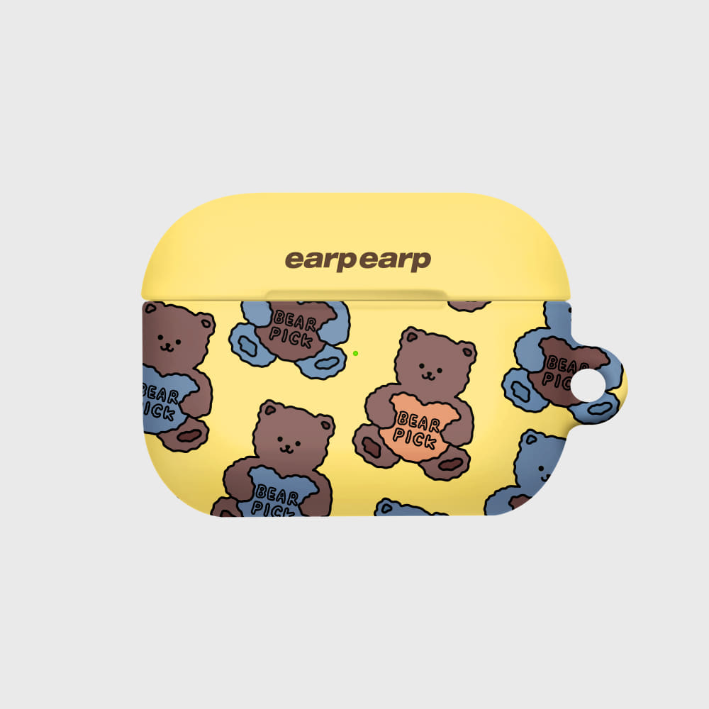 Bear pick-yellow(Hard air pods pro)