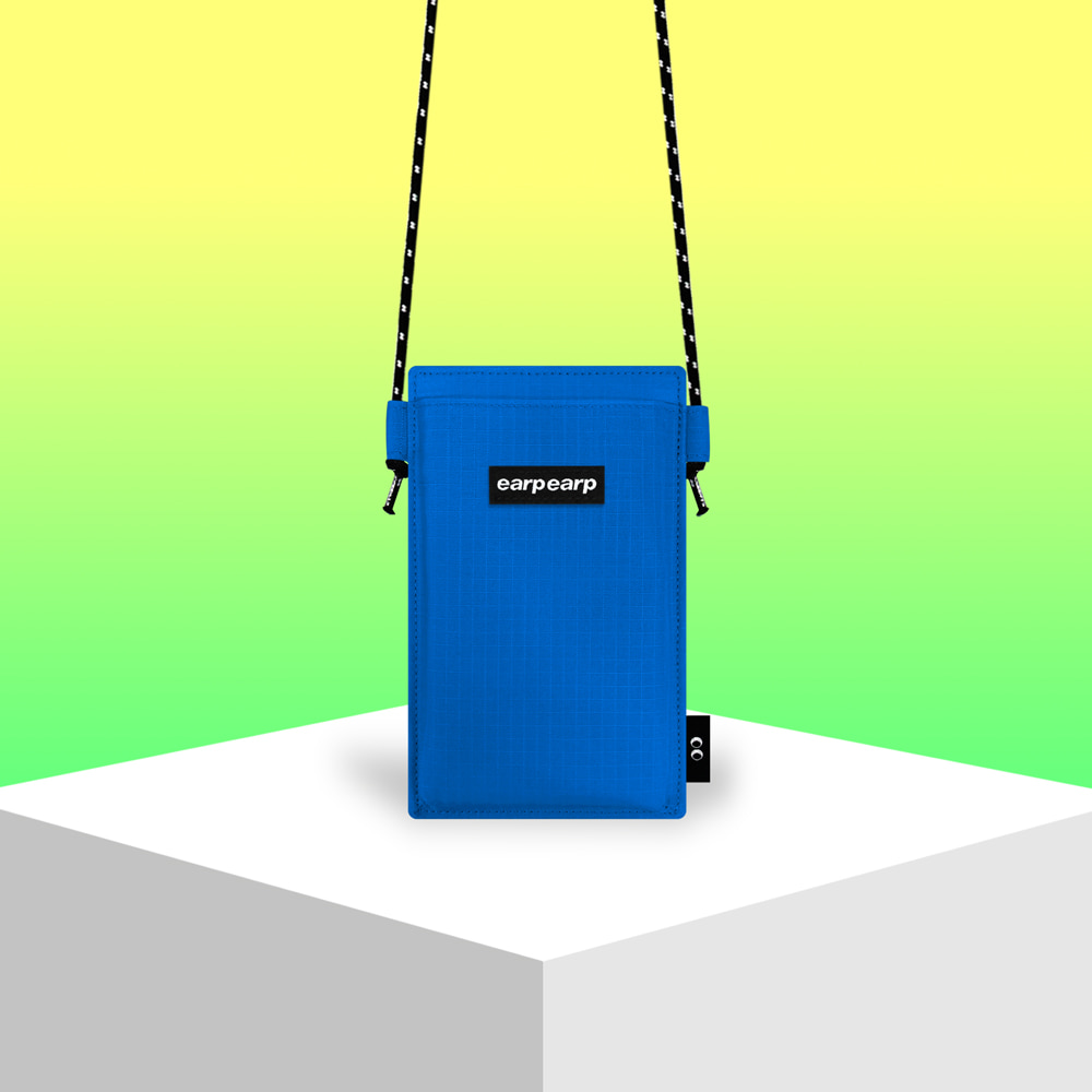 Earpearp pocket crossbag-blue