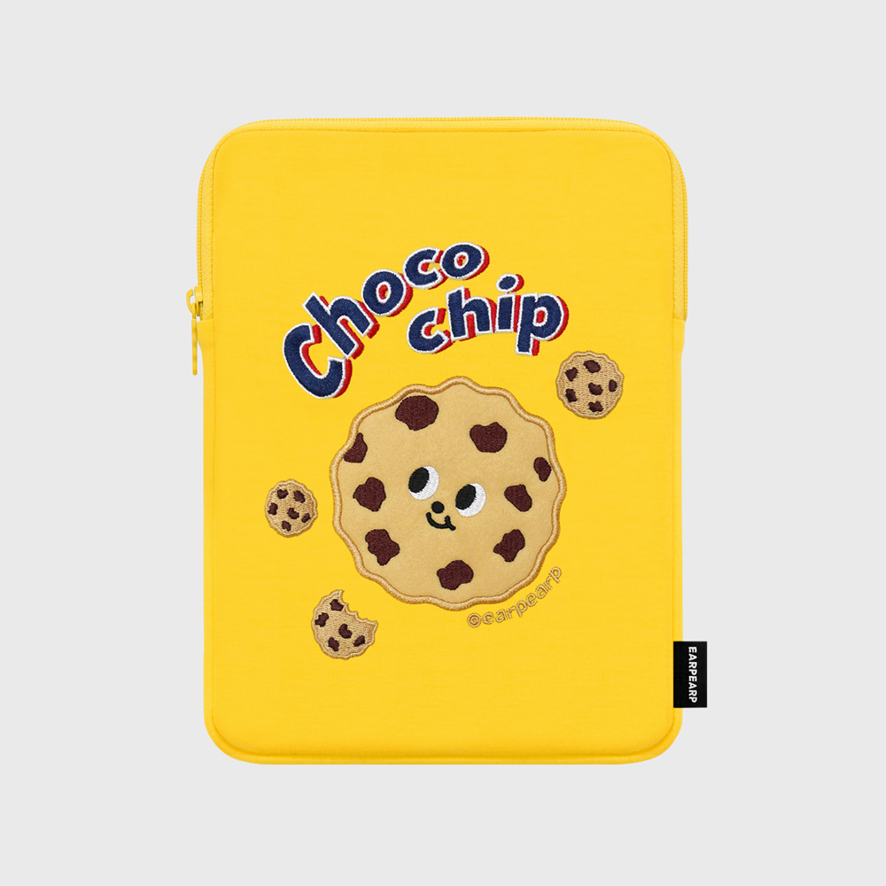 Chocochip cookies-yellow-ipad pouch(아이패드 파우치)