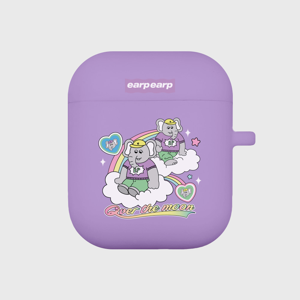 kkikki Over the moon-purple(Air pods)