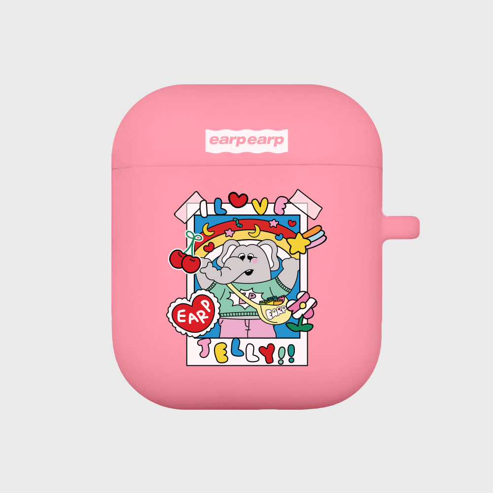 kkikki love jelly-pink(Air pods)