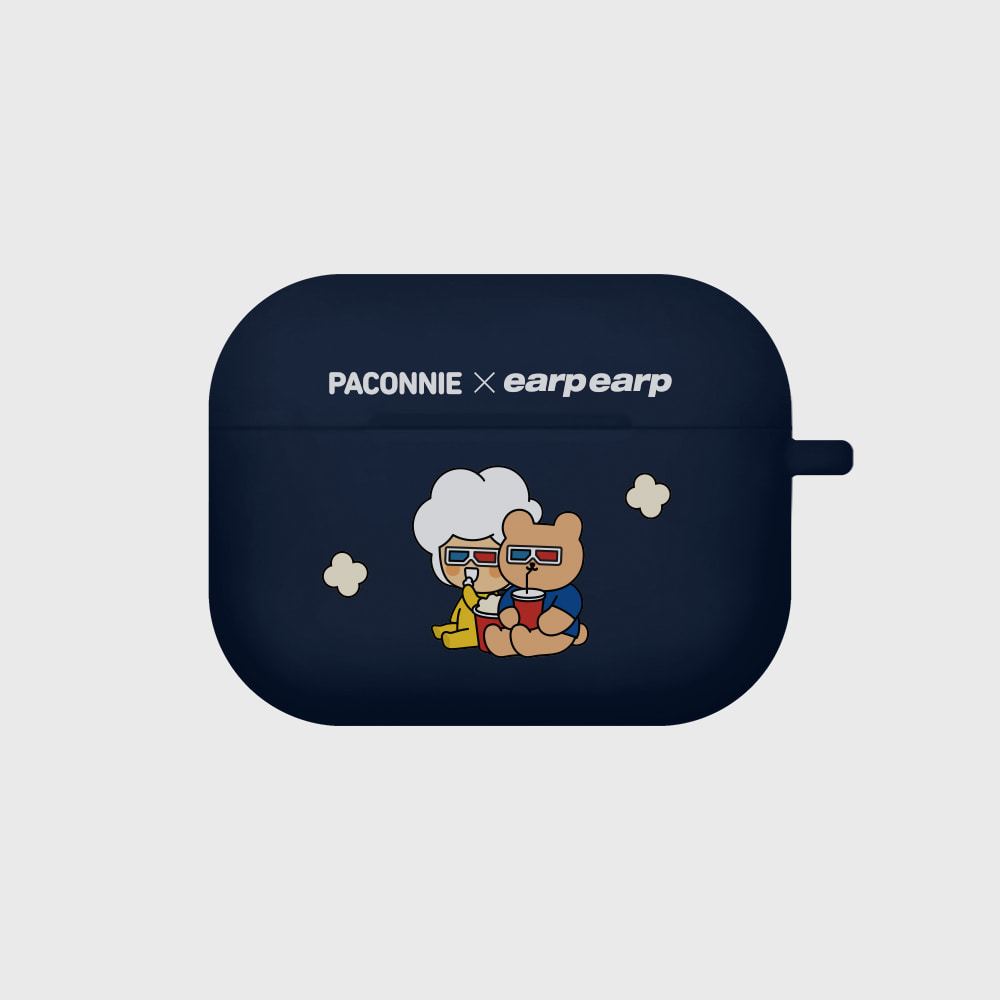 [EARPEARPxCGV]paconnie and covy 3D glass-navy(Air pods pro)