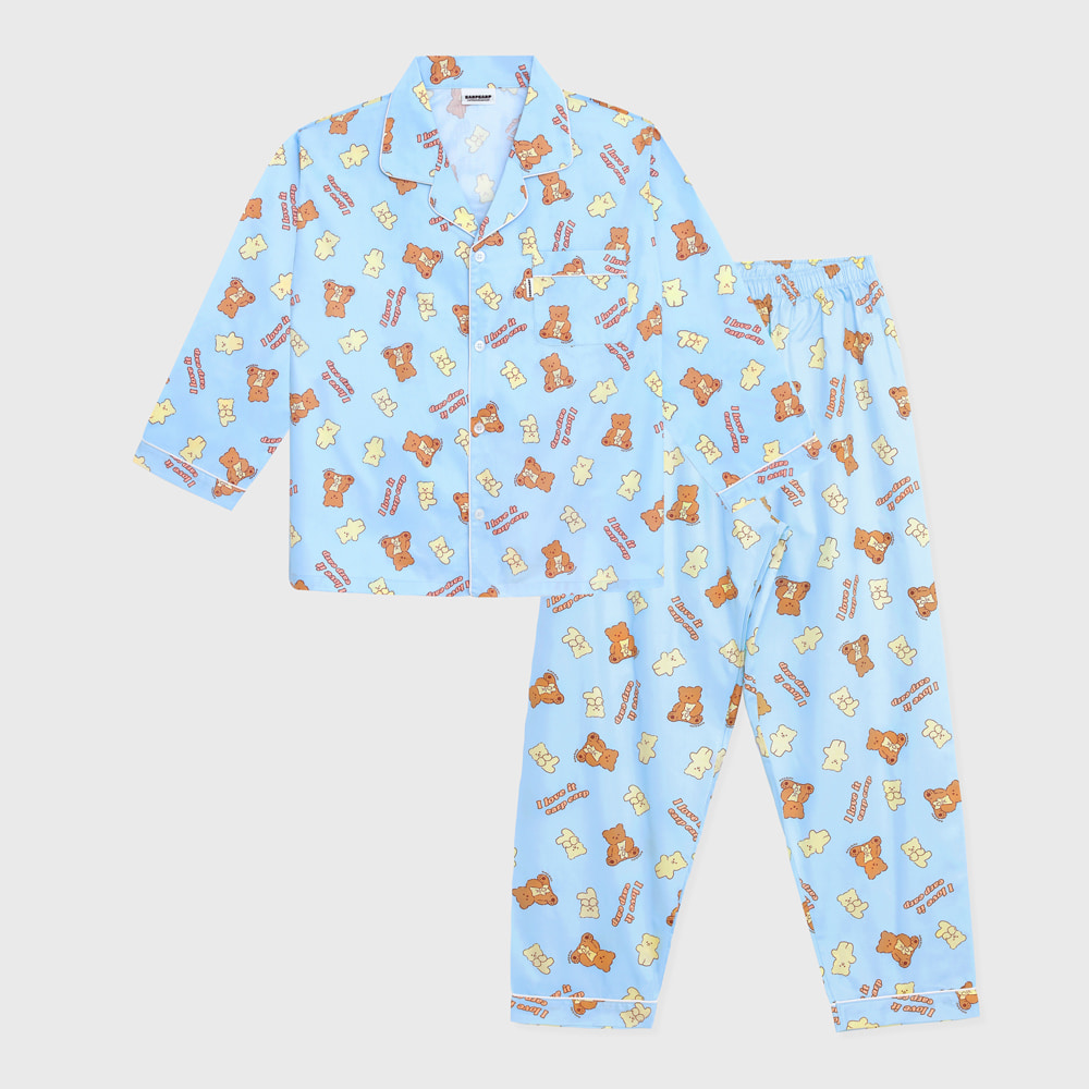 I love it nini-sky blue(Pajamas)