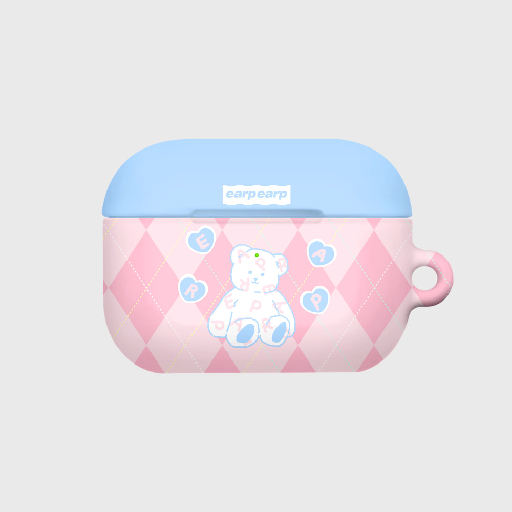 Soft bear-pink(Hard air pods pro)