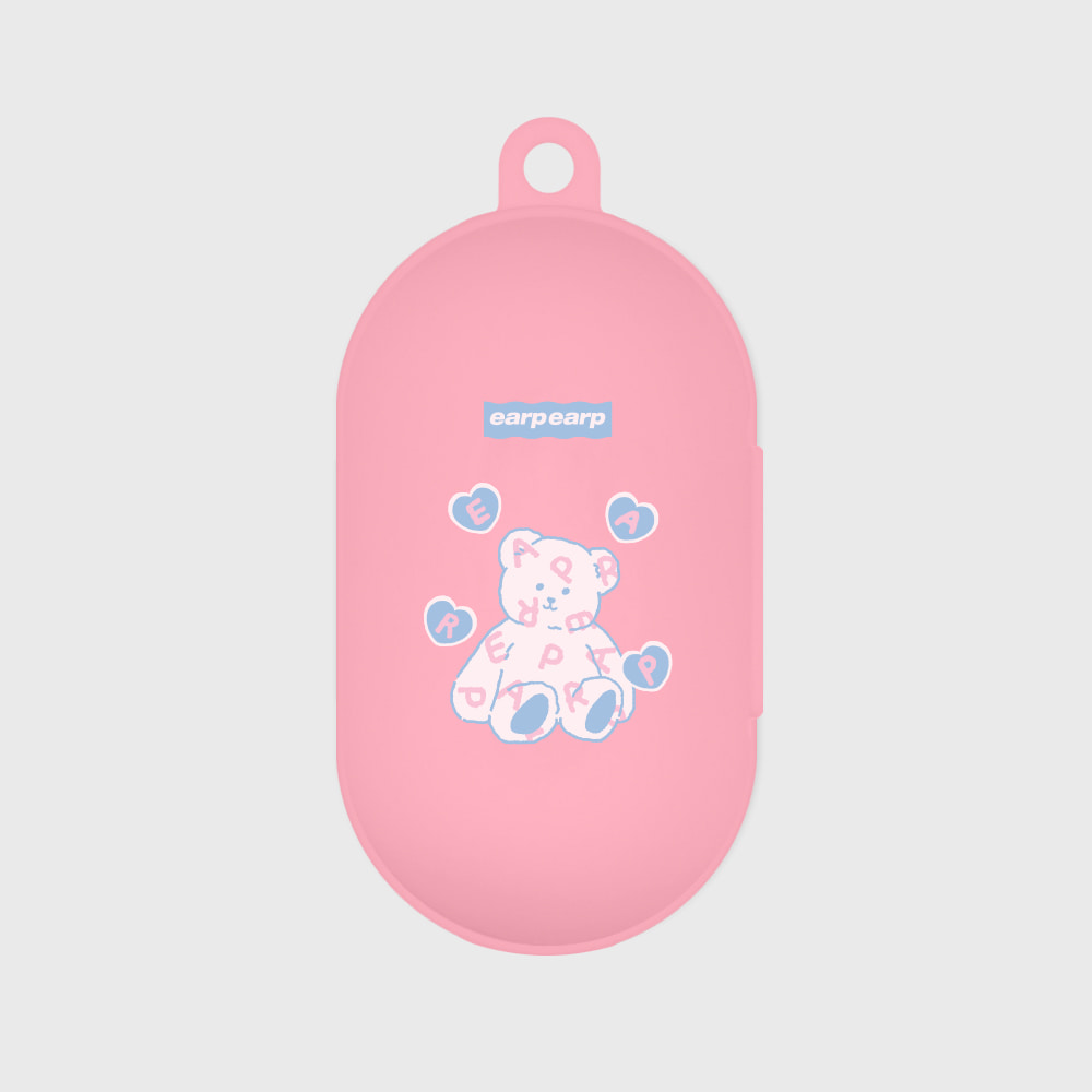 Soft bear-pink(Buds jelly case)