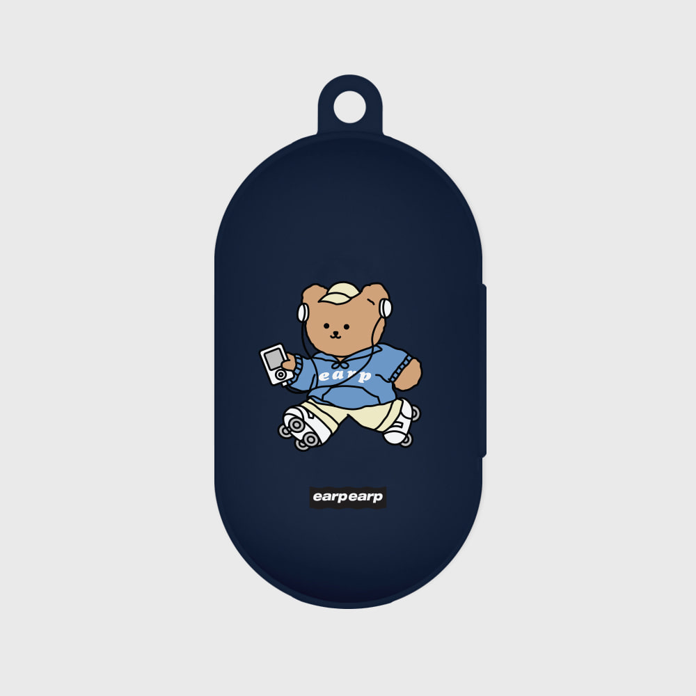 Merry skate-navy(Buds jelly case)
