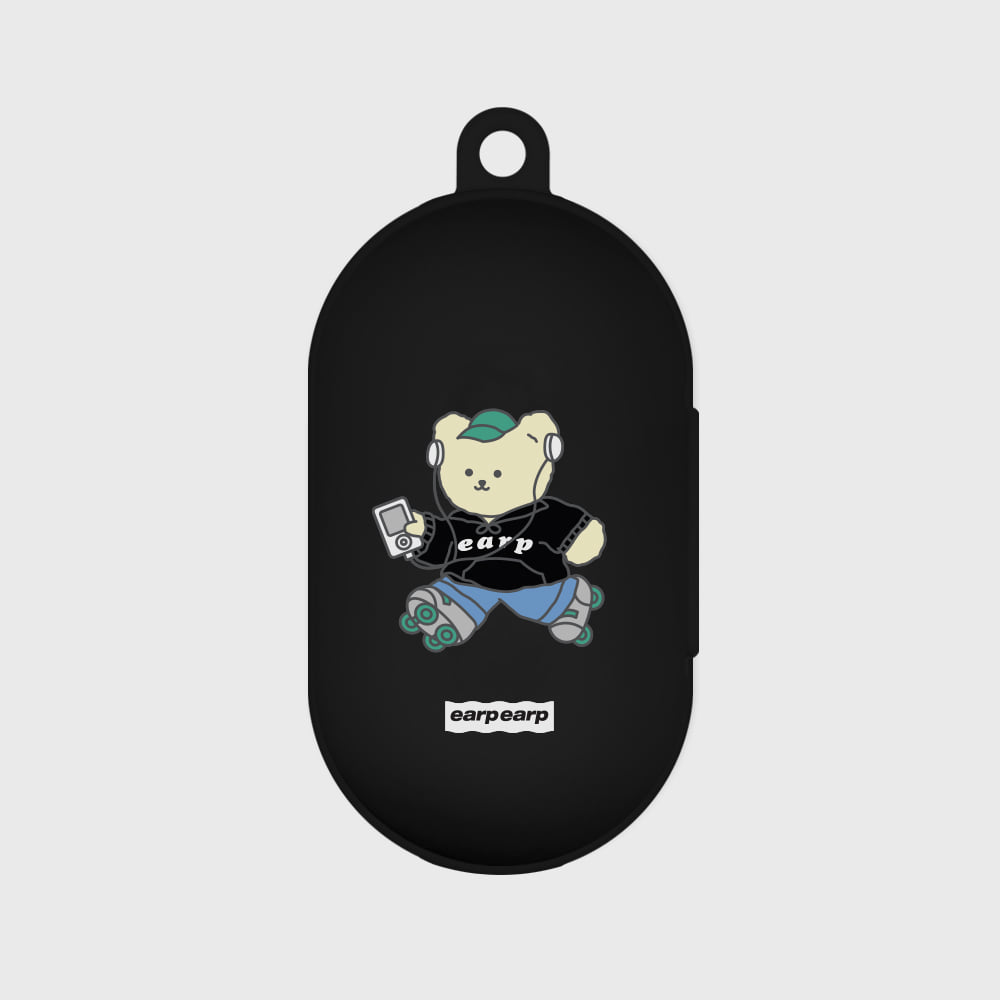 Merry skate-black(Buds jelly case)