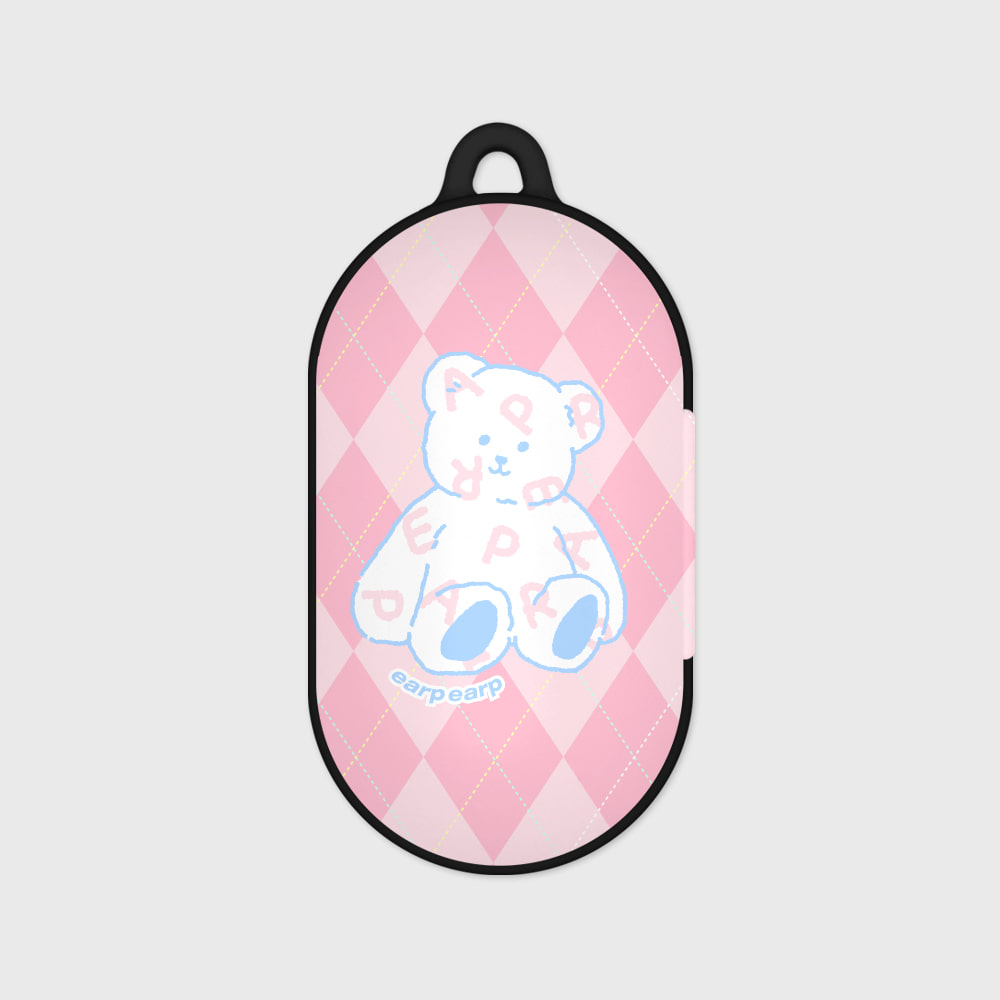 Soft bear-pink(Buds hard case)