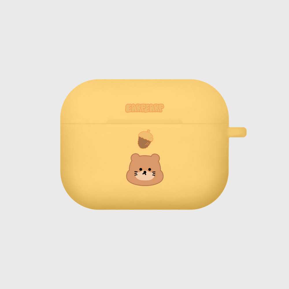 Mori nut-yellow(Air pods pro case)