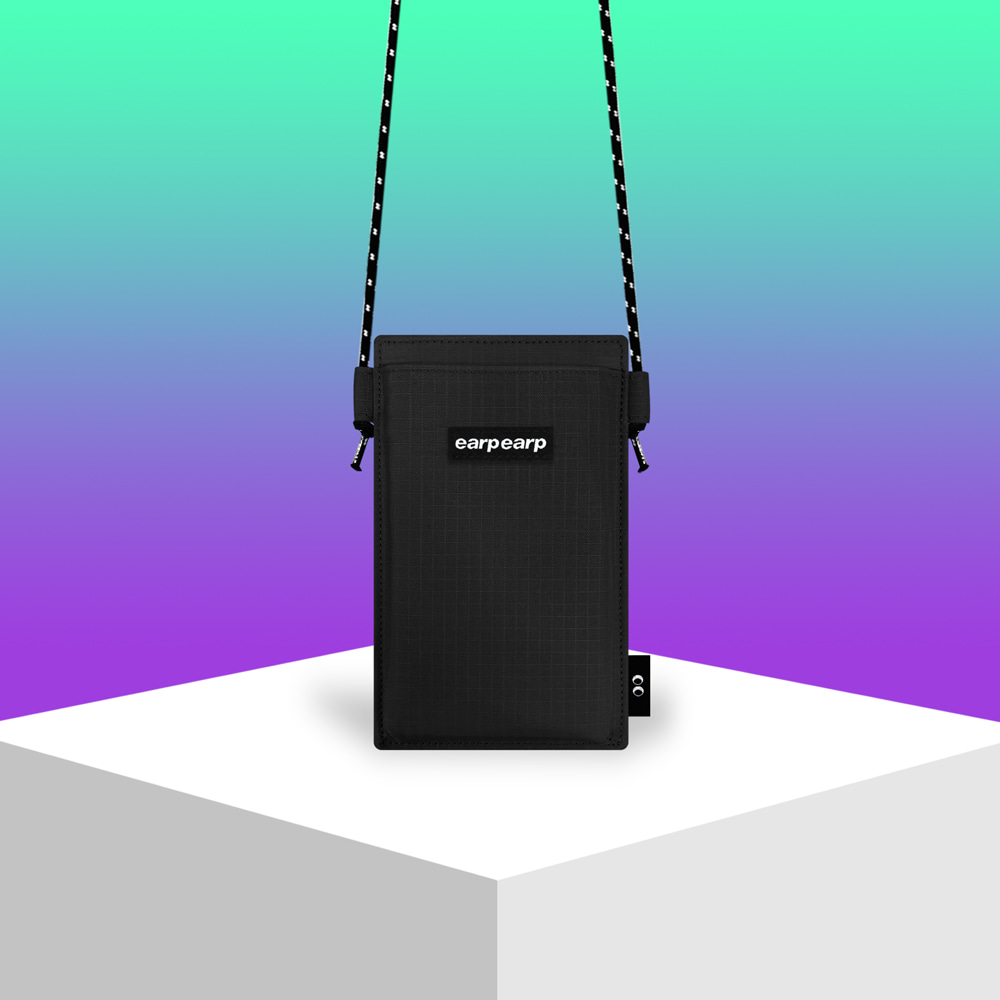 Earpearp pocket crossbag-black