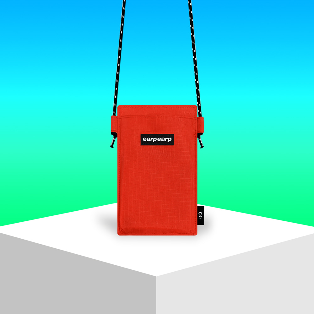 Earpearp pocket crossbag-red