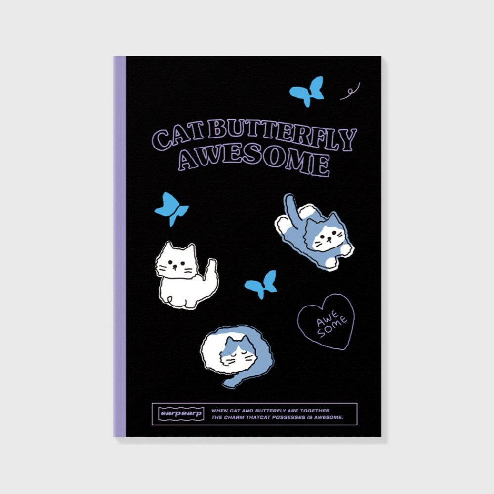 Awesome cat-black(노트)